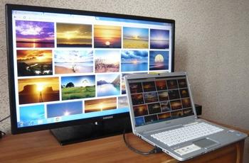 Чудесный тандем или как подключить ноутбук к телевизору
